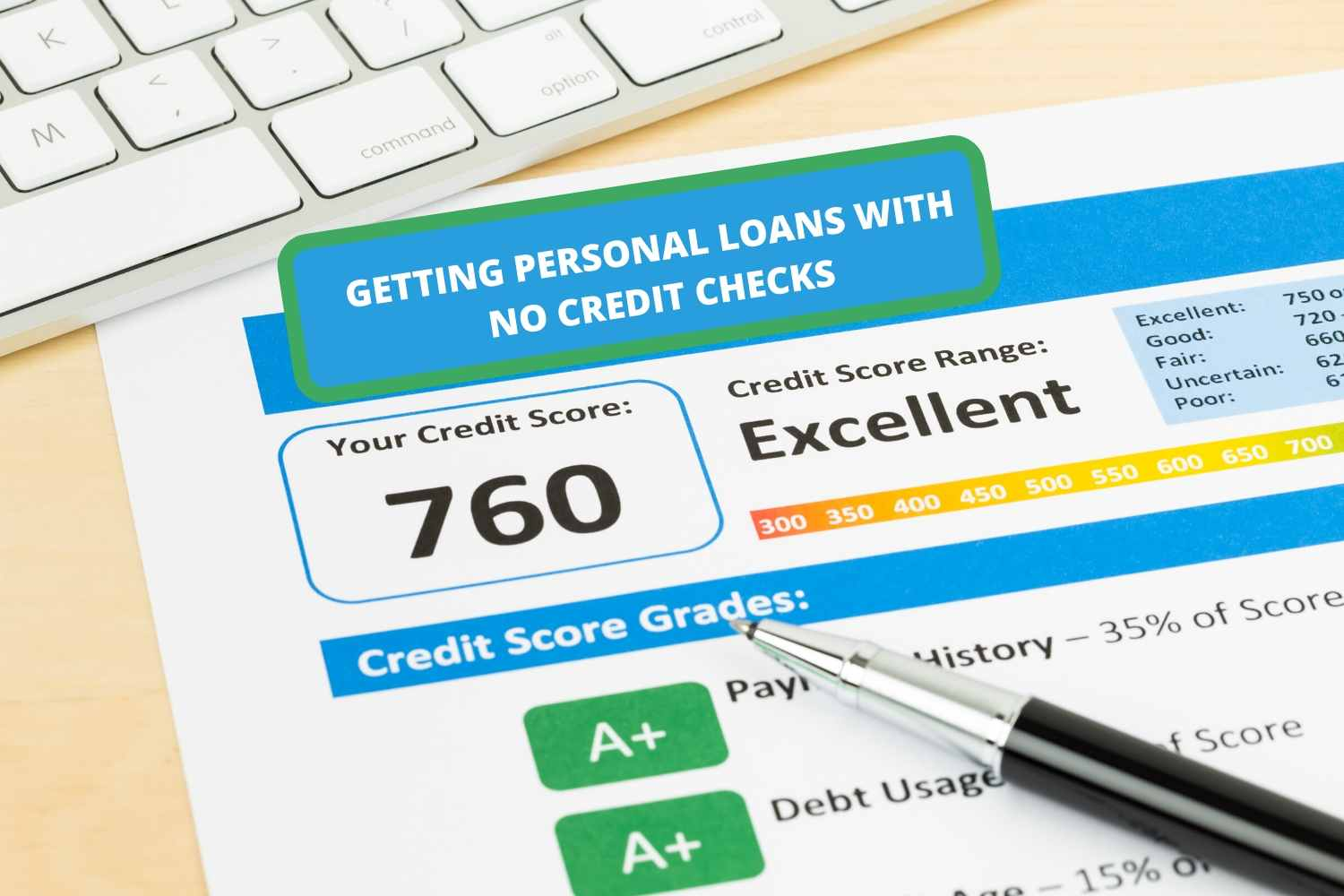 Getting Personal Loans With No Credit Checks - FinancialGuide7